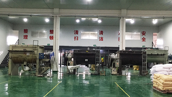 TPE材料厂商整洁的生产基地