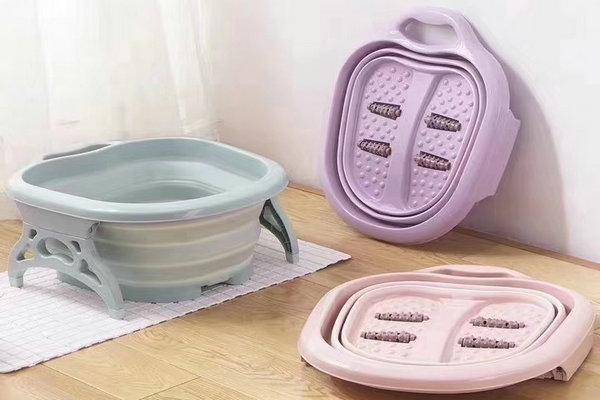 TPR胶粒应用于折叠足浴盆领域